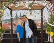 Kissing over the Prague